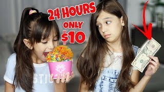 Download EATING FOR 24 HOURS WITH ONLY $10 DOLLARS CHALLENGE Mp3 and Videos