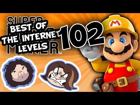 Super Mario Maker: Infinitely Improbable - PART 102 - Game Grumps
