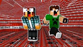 Minecraft: O MUNDO DE TNT !!