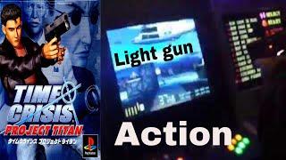 Time Crisis  Project Titan light gun game