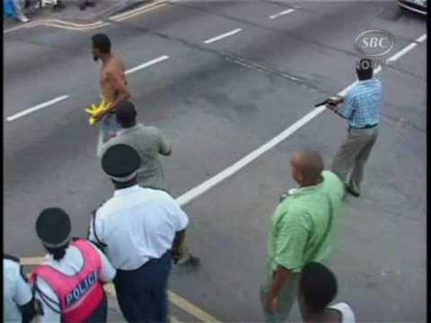 SBC Seychelles:  Incident in Victoria.wmv  11-11-09