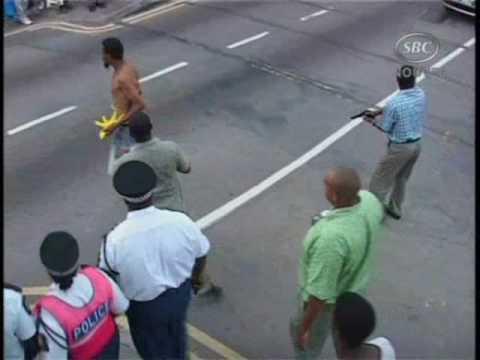 SBC Seychelles:  Incident in Victoria.wmv  11-11-09