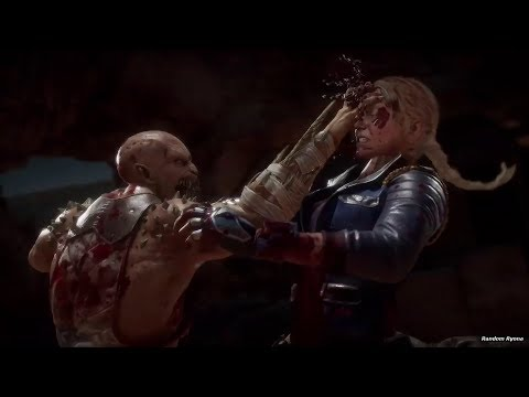 Mortal Kombat 11 Fatal Blows, Fatalities & Brutalities on Skarlet & Sonya thumbnail