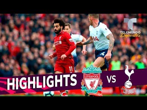 Liverpool vs. Tottenham: 2-1 Goals & Highlights   Premier League   Telemundo Deportes