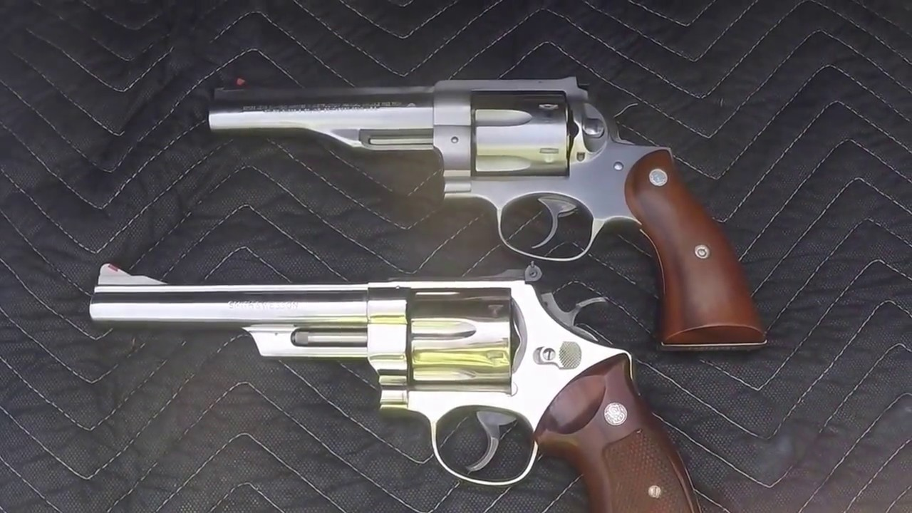 Smith And Wesson Model 29 44 Vs Ruger Redhawk 44