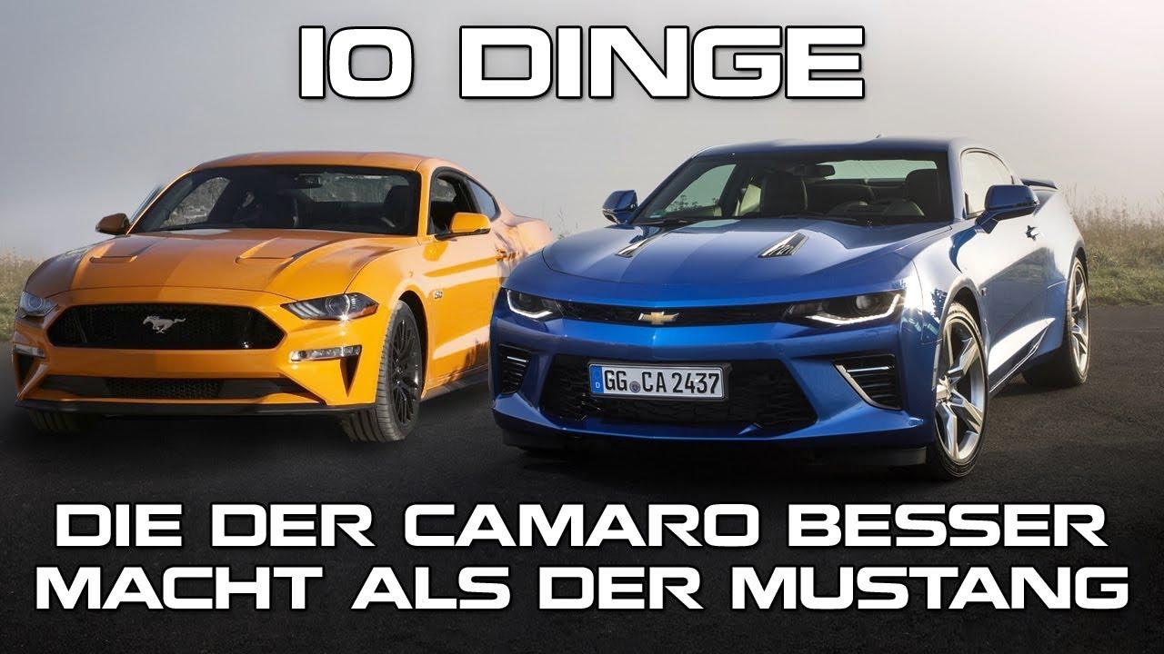 10 Dinge, Die Der Camaro Besser Macht Als Der Mustang - Modern ...