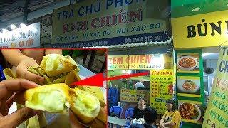 Độc lạ món Kem Chiên bánh mì Sandwich 26 năm chỉ có duy nhất ở Sài Gòn