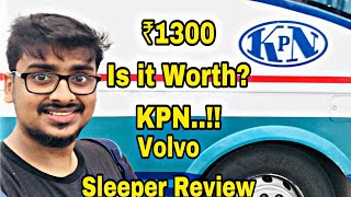 Download Video KPN Travels | Premium Volvo AC Sleeper Review | Pamban Express | Rameswaram to Chennai | Vlog 44 MP3 3GP MP4
