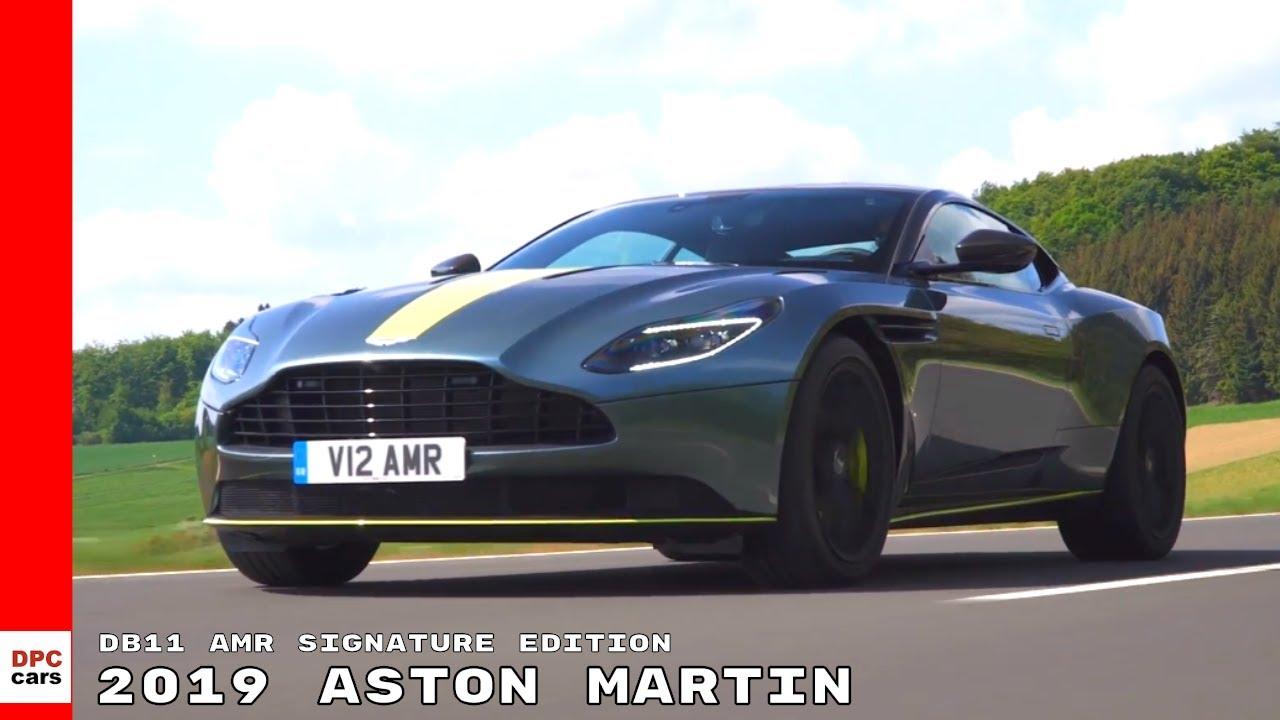 2019 Aston Martin Db11 Amr Signature Edition Youtube