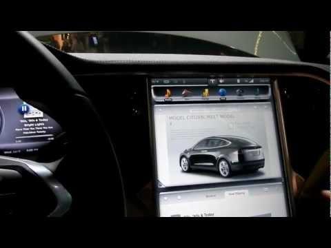 Tesla Head Unit Demo by Nvidia