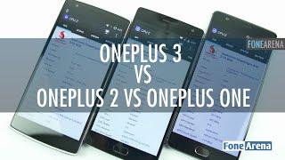 OnePlus 3 Vs OnePlus 2 Vs OnePlus One