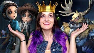 DEER QUEEN HUNTS HER SUBSCRIBERS | Identity V (Multiplayer)