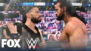 Drew McIntyre discusses upcoming match vs. Roman Reigns in 1-on-1 with Ryan Satin | WWE ON FOX