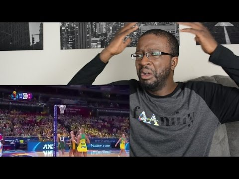 🇦🇺 - American watches NETBALL for the first time!