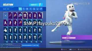 I VEND OR EXCHANGE MY FORTNITE [SKIN GALAXY,CHEVALIER NOIR]