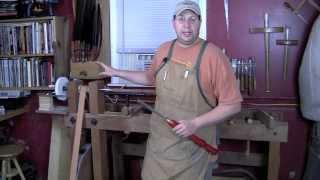 Hand Tool School Semester 5 Foot Powered Lathe101 Highlights