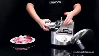 Мясорубка Kenwood MG 700 - видео обзор