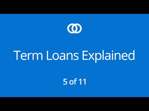 Term Loans Explained (Part 5)