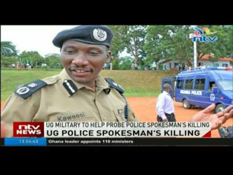 Uganda military to help investigate Spokesperson Felix Kaweesi's killing