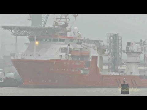 offshore supply ship NORMAND JARL LACE8 IMO 9661170 Versorgerschiff