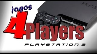 Jogos 4 Players de Playstation 3 (couch multiplayer)