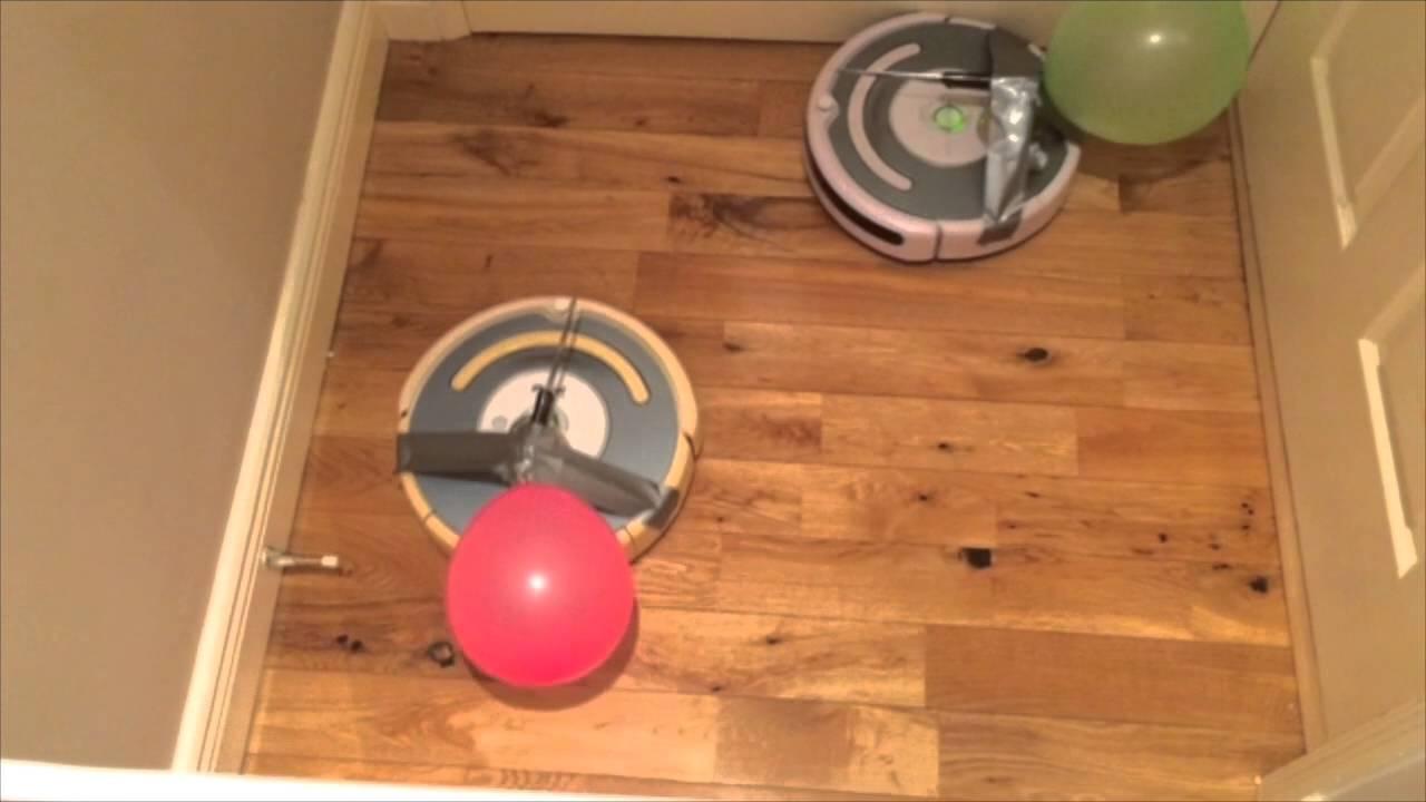 Roomba Knife Fight Youtube