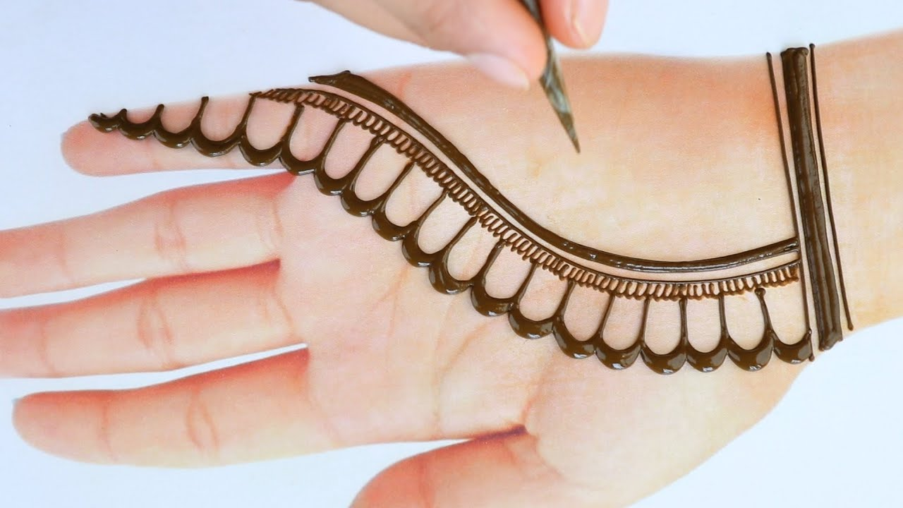 Easy Arabic Mehndi Design Tricks 2021| Front Hand Mehandi Design | Stylish Mehndi for Wedding