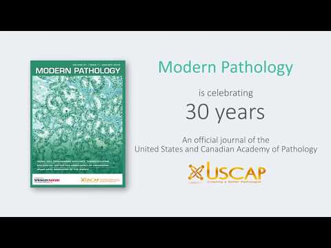 Modern Pathology celebrates 30 years of publication