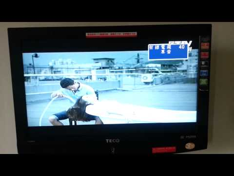 Flipping through TV channels in Taiwan