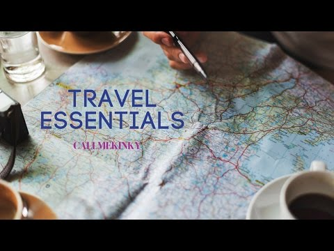 Carry-on Travel Essentials: Everything you need a trip or vacation