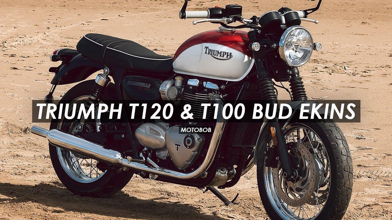 2020 Triumph Bonneville T120 Review.New 2020 Bud Ekins Triumph Bonneville T100 T120 Special Editions Announced
