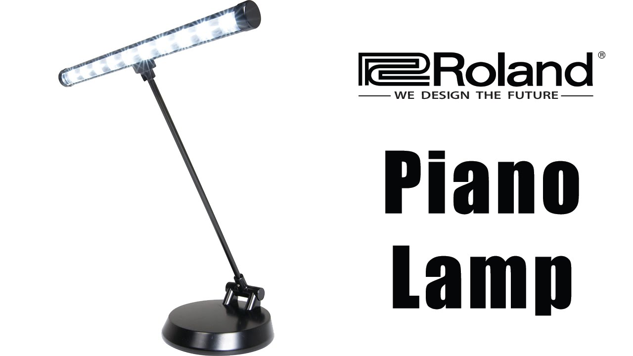 Charming Roland LED Piano Lamp