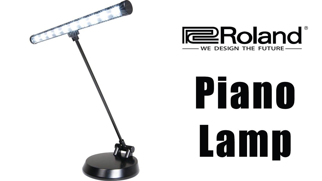 Roland LED Piano Lamp - YouTube