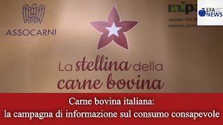 Carne bovina italiana: la campagna di informazione sul consumo consapevole