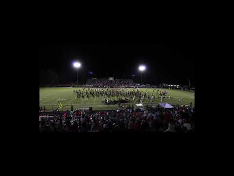 THS Band Performs At Coffee Pot Game