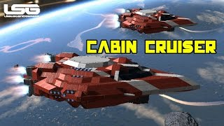 Space Engineers - The Cabin Cruiser, Small Ship