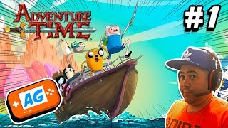 Adventure Time: Pirates of the Enchiridion Gameplay Capitulo 1 Buscando la Corona del Rey Hielo