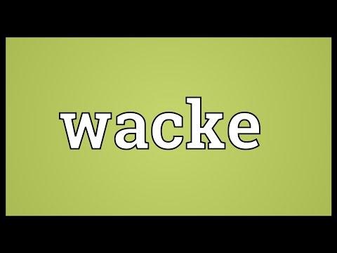 Header of wacke