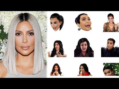 Kim Kardashian Criticada Por Sus Nuevos Kimojis Feministas