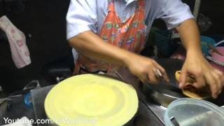 Swirl Oyster Omelette | Thang Teak | Japanese Crepe | Fried INSECTS | Bangkok Night life Foods