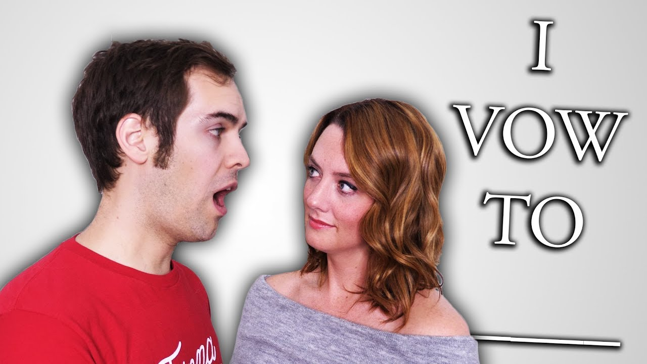 Our Wedding Vows. (YIAY #399) - YouTube