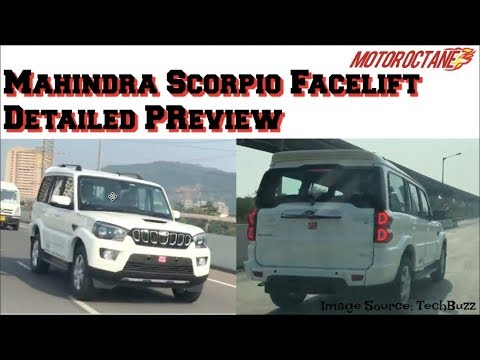 Mahindra Scorpio 2018 Preview in Hindi