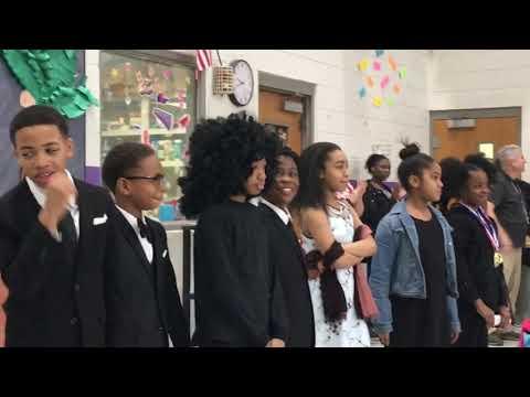 2019 Bellshire Elementary School Black History Program Pt. 6