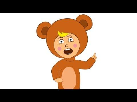 НЕ ЩИПАЙ - дед мороз - детская веселая песенка мультик для малышей про новый год