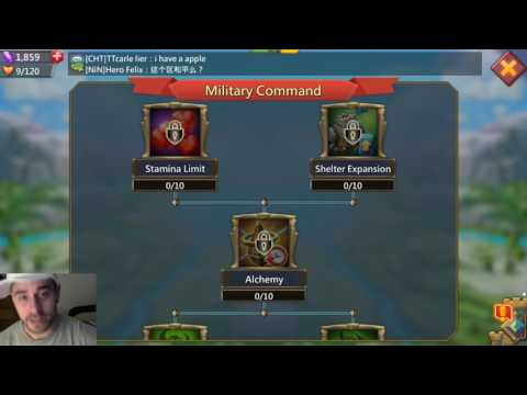 Lords Mobile | 5.4.17 Update Review – New research [Military Command]