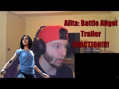 Alita: Battle Angel Trailer Reaction and Review!!!