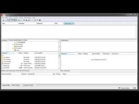 How to transfer files using FileZilla
