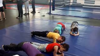 Казань. Тренировки по боксу для детей в игровой форме. Центр фитнеса
