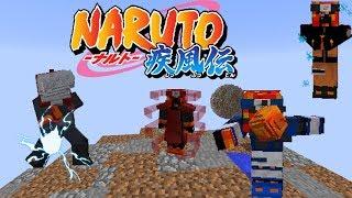 Nuevas animaciones de sharingan, susanoo, jutsus, armaduras 3d y más || Sekwah's Naruto Mod 1.7.10