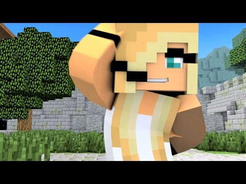 "Minecraft Songs ""Like A Girl"" Psycho Girl 3 and Little Square Face Minecraft Songs"